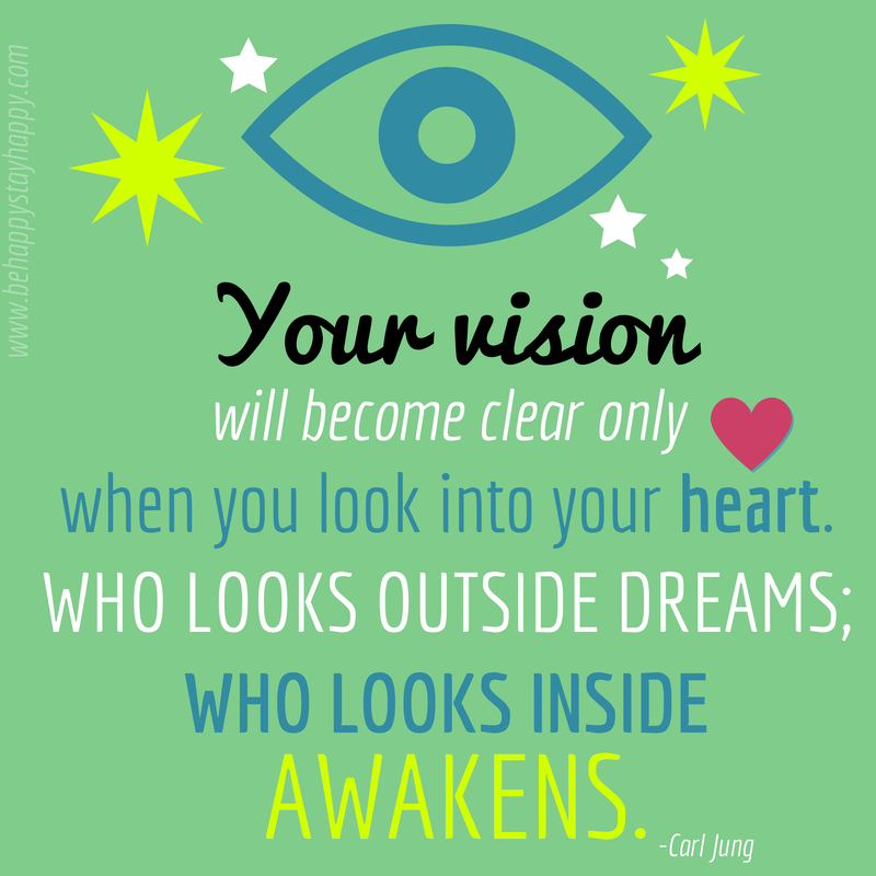 Vision Jung Quote